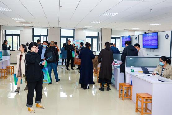 2020蓉漂人才荟走进重庆理工大学—蒲江·丹棱专场推介会成功举办 56